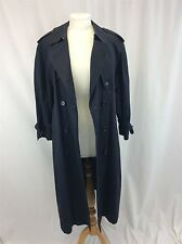 Burberry London long men's cotton-gabardine trench coat large