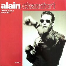 """Alain Chamfort 12"""" L'amour Samplé (Dis-Le Moi...) - France (EX+/EX+)"""