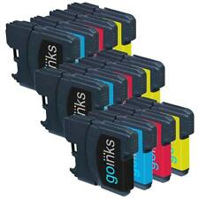 12 Ink Cartridges (3 Sets) for Brother DCP-J125 DCP-J140W DCP-J315W DCP-J515W
