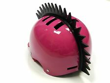 STICK-ON EVEN SAW BLADE SPIKES MOHAWK STRIP FOR MULTI-SPORT HELMETS HELMET