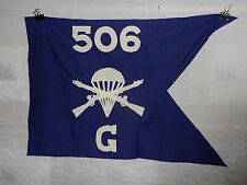 flag683 WW 2 US Army Airborne Guide on 506th Parachute Infantry Regiment G Co
