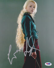 Evanna Lynch SIGNED 8x10 Photo Luna Harry Potter PSA/DNA AUTOGRAPHED