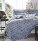 Duvet Quilt Cover With Pillow Case Bedding Set Twin Full/Queen King Size #A