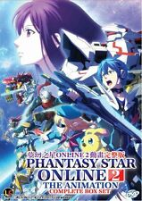 DVD Phantasy Star Online 2 The Animation Complete Vol 1-12end Anime Free1Anime