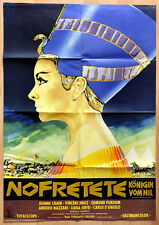 "orginal Plakat Poster Film Movie "" Nofretete Königin vom Nil "" 1961 Klassik"