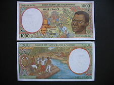CENTRAL AFRICAN STATES (CONGO)  1000 Francs 2000  (P102Cg)  UNC
