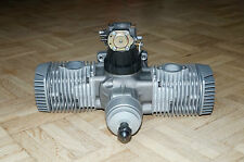 OPS 60 Maxi Super Twin Cylinder Boxer RC Model Engine 8970 Methanol or Gas