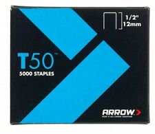 Arrow - T50 Staples 12mm (1/2in) Box 1250