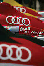 AUDI LE MANS TDI POWER RACE CAR RACING POSTER PICTURE PRINT