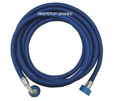 UNIVERSAL 3.5 METER COLD FILL BLUE INLET HOSE FOR WASHING MACHINES-DISHWASHERS