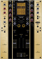 Pioneer DJM-909 Skin Brushed Gold (The Boss)