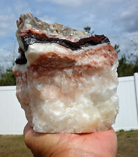 CALCITE Crystal Mountain Natural Point Green Brown Red White Orange Multi Color