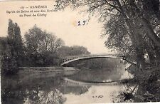 ASNIERES SUR SEINE Bords de Seine et une des Arches du Pont de Clichy