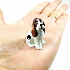 New English Cocker Spaniel Puppy Dog Dollhouse Miniature Figurine Collectible