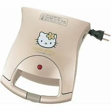 TWINBIRD Hello Kitty HP-4383KT Hot Sandwich Maker Japan Limited Rare Freeship