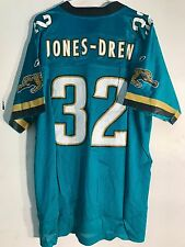 Reebok NFL Jersey Jaguars Maurice Jones-Drew Teal sz L