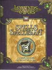 Legends & Lairs: Spells & Spellcraft, d20 system, Fantasy Flight Games, As New
