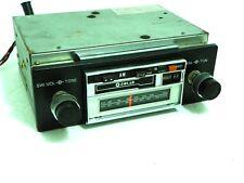 Vintage 70's SOLAR  Model 612 AM/FM Stereo 8-Track Car Radio Japan Original Knob