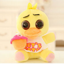 HOT FNAF Five Nights at Freddy's Chica and cupcake Carl 18 CM  Plush Doll
