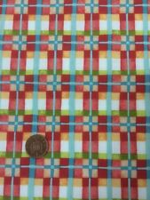 Mischief 2883 Red Check 100% Cotton Quilting Fabric Benartex Nancy Halvorsen