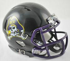 EAST CAROLINA BLACK Officially Licensed Speed Mini Helmet