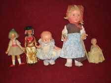 Vintage Doll Lot Aus Dem Hause Goebel and others with Bonus Goebel Plate