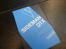 VOYETRA SIDEMAN DTX SOFTWARE EDITOR FOR YAMAHA DX/TX/DX7-II FOR IBM/PC/XT/AT NOS