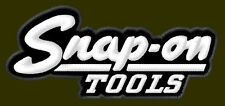 "SNAP-ON TOOLS EMBROIDERED PATCH ~4"" x 1-3/4"" RICAMATO BORDADO PARCHE AUFNÄHER"