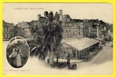 cpa 06 - CANNES (Alpes Maritimes) MARCHÉ FORVILLE Hall DOS 1900