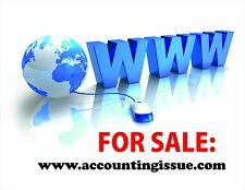 HOT PROMO - high value domains for 99$ *accountingissue.com* - BUY IT NOW!