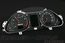AUDI rs6 4f tachimetro display combinata instrument cluster FIS BC MFA a6 s6 4f0920932n MX