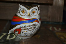 "Royal Crown Derby Paperweights  ""WISE"" Owl 1st Quality & Orig Box  SPECIAL OFFER"