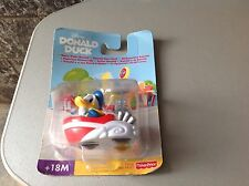 2000#Vintage Fisher Price Donald Duck Wave Rider# Mosc Paperino