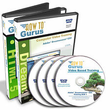 How To HTML 5 and Adobe Dreamweaver CS5 Web Site Design Training 31 hrs 4 DVDs