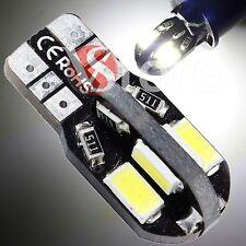 2 Led T10 8 SMD 5730 No Errore Canbus Lampade BIANCO Xenon W5