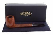 Savinelli Tre 802 Tobacco Pipe - Smooth