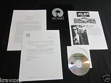 RIVAL SCHOOLS 'UNITED BY FATE' 2001 PRESS KIT w/ADVANCE CD & PHOTO