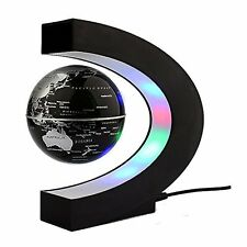 Magnetic Levitation Floating Globe with LED Lights 3-inch Globe World Map C