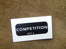 REYNOLDS COMPETITION CYCLE TUBING DECAL RARE SPARE NEW