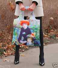 Museum Art With Zip RENOIR Two Sisters SHOPPING BAG Foldable Eco Reusable ECOZZ