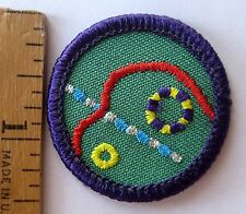 Girl Scout Junior 1990-2001 JEWELER BADGE Jewelry Ring Bracelet Necklace Patch