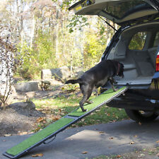 "Gen7Pets 72"" Natural-Step Pet Ramp w/ artificial turf for up to 250 lbs G7572NS"