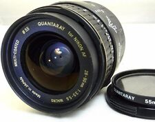 Quantaray AF 28-90mm f3.5-5.6 Lens Nikon Cameras Macro 1:2 at 90mm D7200 D7300