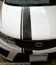 "6"" offset Rally Stripe Stripes Decals Graphics Fit KIA OPTIMA & Forte"