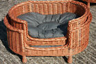Luxury Large Wicker Dog Bed Basket Sofa