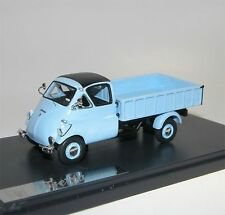 MATRIX Scale Models, 1957 ISO Isetta Autocarro Pick-Up, Pritsche, blau, 1/43