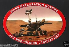 MARS EXPLORATION ROVERS JPL JET PROPULSION LAB NASA EXPLORATION ORIGINAL STICKER