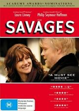 The Savages (DVD, 2008) =  LAURA LINNEY = PAL 4  = SEALED