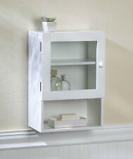 BATHROOM MODERN VOGUE MEDICINE WALL CABINET W/GLASS DOOR DECOR NEW~10016023