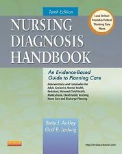 Nursing Diagnosis Handbook by Betty J. Ackley MSN EdS RN [Paperback] 10th Editio